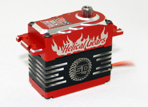 BLS-H50B ( Full Aluminum Helical Brushless Digital Servo )